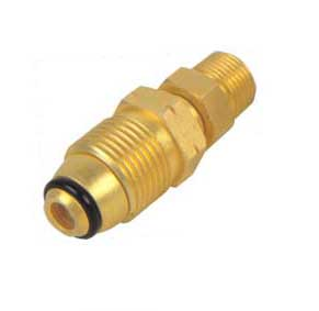 Brass Gas Adapter