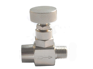 Brass Needle Valve Nickel Plated